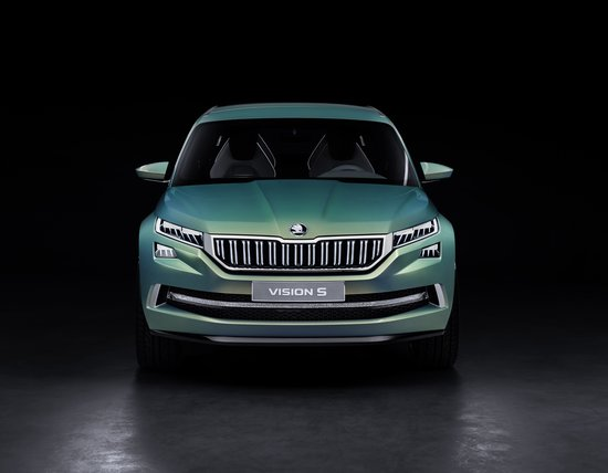 斯柯达全新概念车VisionS即将亮相北京车展