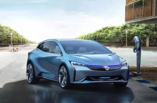 别克Velite新能源概念车广州车展全球首发