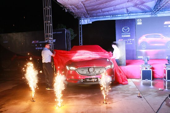 长安马自达第二代Mazda CX-5孝感地区耀世登场