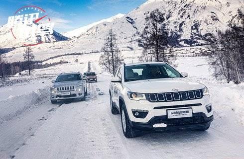 体验4x4的魅力 Jeep全系SUV冰雪穿越喀纳斯