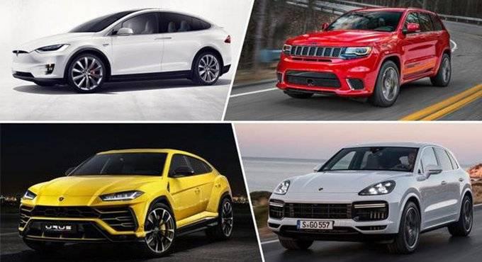 陆地最强 秒杀超跑 盘点全球五大最速SUV
