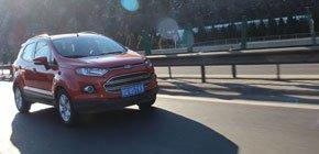 城市SUV推荐 试驾福特翼搏1.5L自动尊贵型