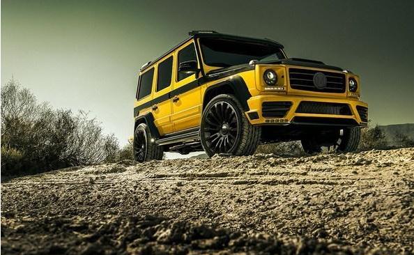 2万欧元的奔驰G级套件 很黄很暴力