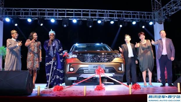 GAC Motor闪耀非洲,传祺GS4尼日利亚隆重上市