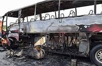 国务院安委办通报湖南大巴起火致35死事故:车辆超载2人