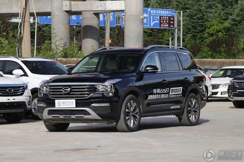 [腾讯行情]阳江 传祺GS8购车16.38万元起
