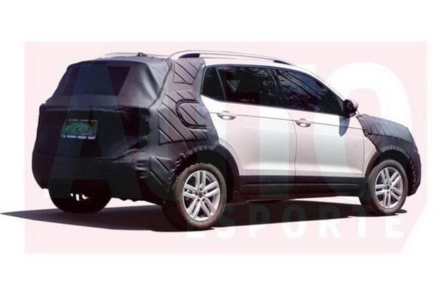 大众全新跨界SUV T-CROSS量产版谍照曝光