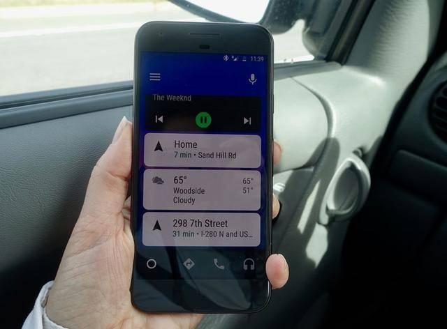 """谷歌开发全新汽车应用 无需再和车载""""捆绑"""""""