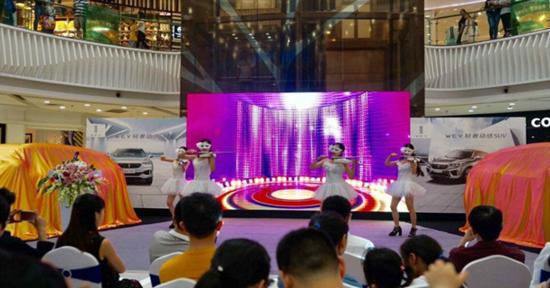 WEY你而来 中国豪华SUV开创者登陆宜昌了