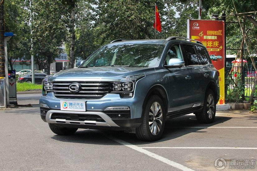 [腾讯行情]银川 传祺GS8购车价格直降1万