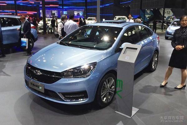 奇瑞艾瑞泽5e纯电动车有望明年1月上市