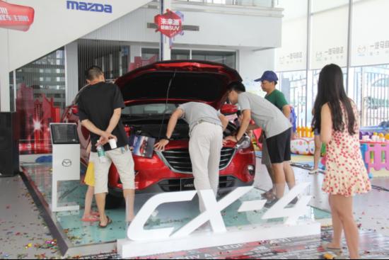 走自己的路 MazdaCX-4湛江地区震撼上市