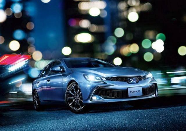新款丰田锐志最新官图 整个容继续卖