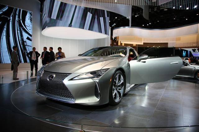 雷克萨斯发布全新LC车型 视觉冲击力强大