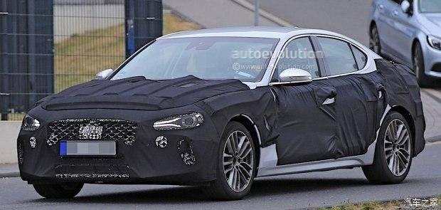 现代Genesis G70假想图 运动豪华中型车