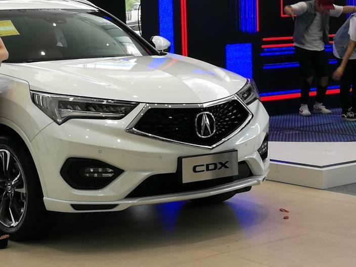 运动加持 自有格调 广汽讴歌CDX混动版肇庆完美上市