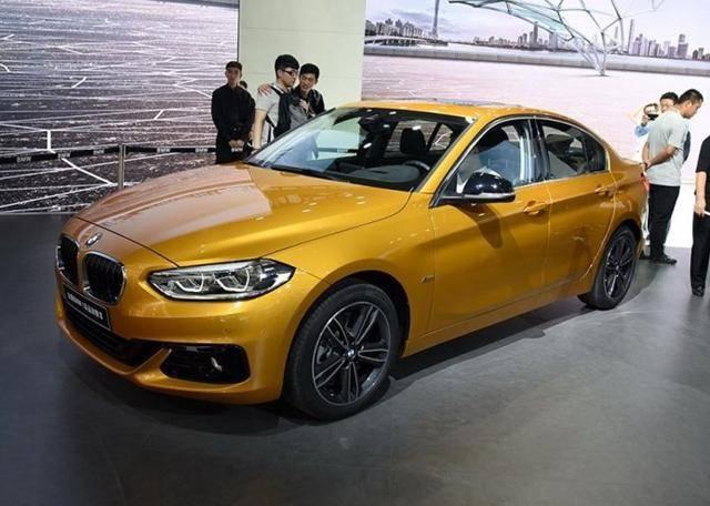 宝马1系三厢版预计下月上市 预售20.5万起