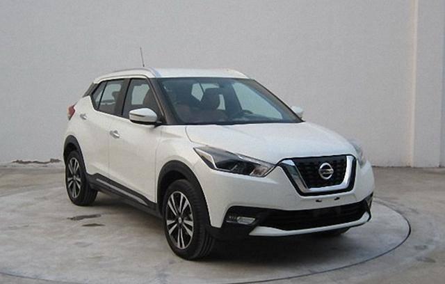 东风日产新小型SUV部分官图 上海车展首发
