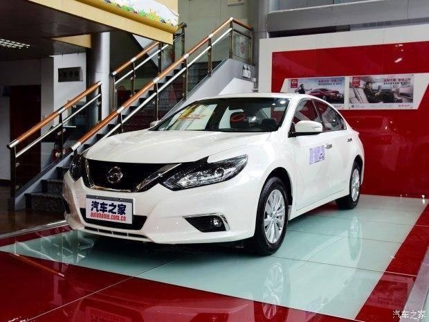 日产天籁新车型正式上市 售18.68万元