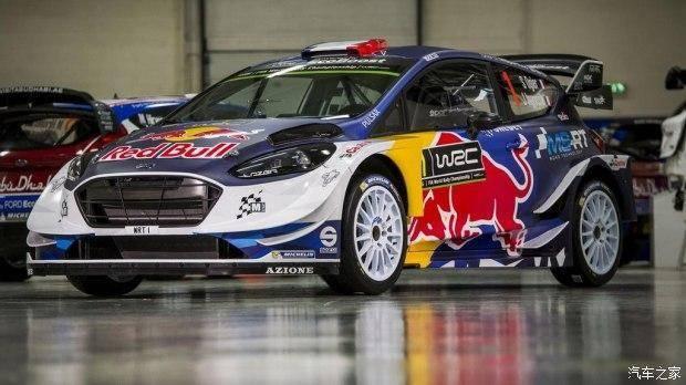 2017款福特嘉年华WRC赛车 戎装亮相