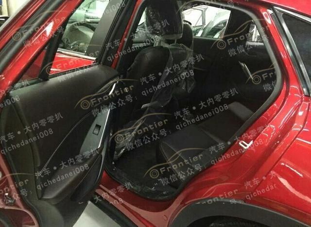 一汽马自达全新国产SUV CX 4无伪装首次曝光