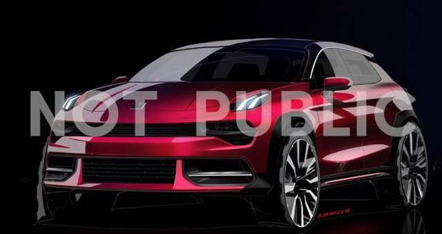 全新紧凑型SUV 领克02预告图发布