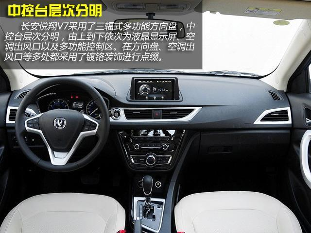 王中王一马中特长安悦翔V7购车手册 推荐1.6L乐趣型