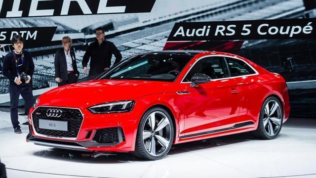 奥迪将2018年底前推6款RS车型 丰富产品线