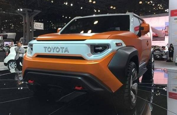 比普拉多还霸气 丰田FT-AC概念车预告图