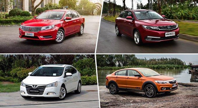 四款精品自主紧凑级家轿推荐 用品质说话