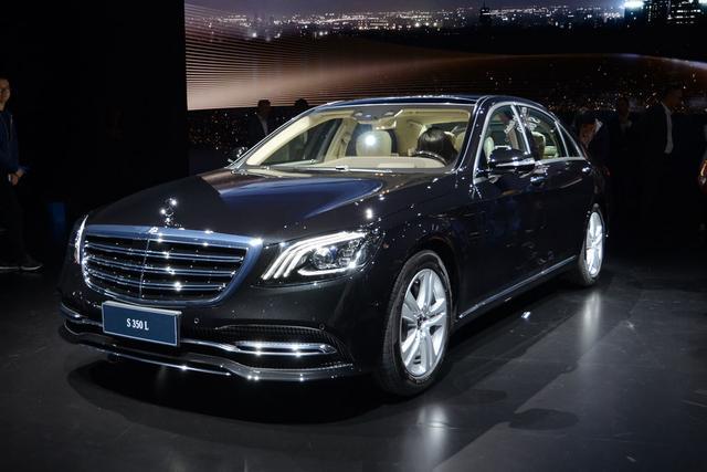 上海车展奔驰之夜 新款S级家族全球首发