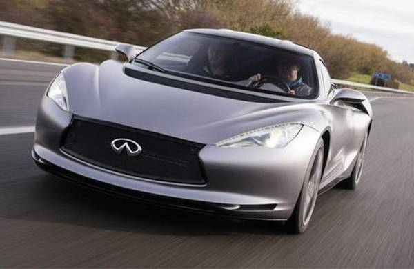 英菲尼迪推全新电动概念车 有望2019年量产