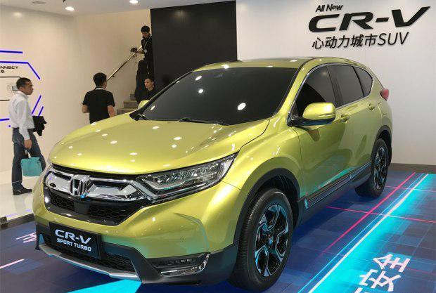 国产全新CR-V锐·混动上海车展发布