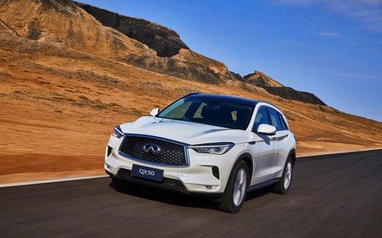 豪华SUV新势力,全新QX50预售价35万元起