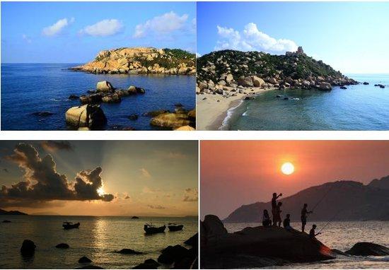 那琴半岛地质海洋公园海岸线全长6000多米,海滩共有5个,包括浪琴湾