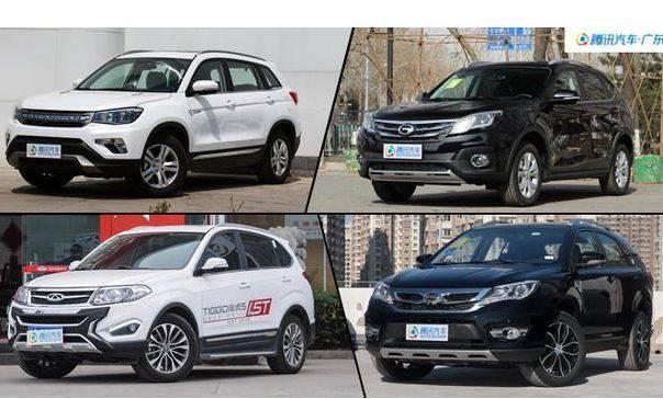 超高性价比 国产大空间SUV仅9万起