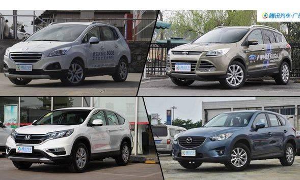 翼虎/CX-5等合资SUV最高优惠3万元