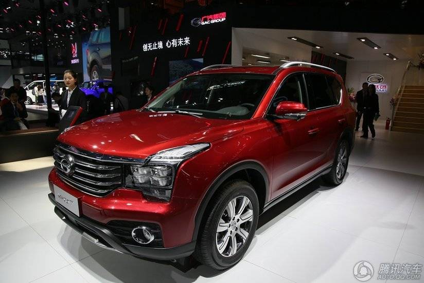 [腾讯行情]中山 购传祺GS7优惠高达5000元