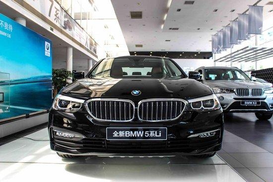 新BMW 5系珠海宝泽宝马到店实拍 欢迎鉴赏