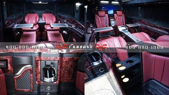 2017款奔驰新威霆报价,三款大空间内饰美的奔驰房车