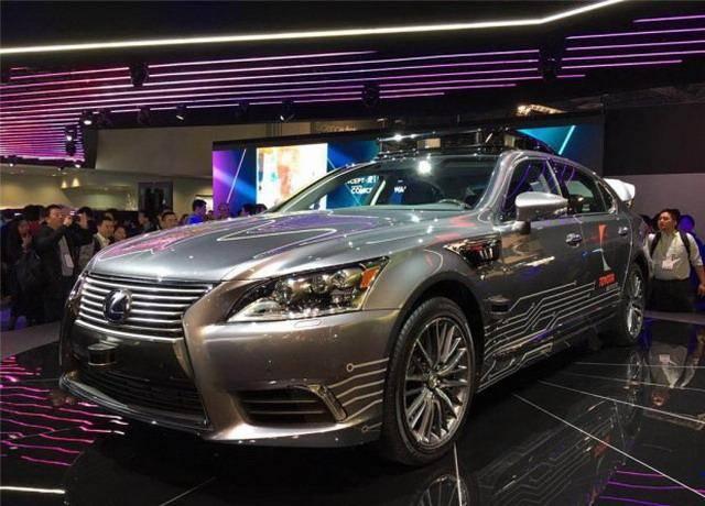 雷克萨斯推出自动驾驶车 CES展正式亮相