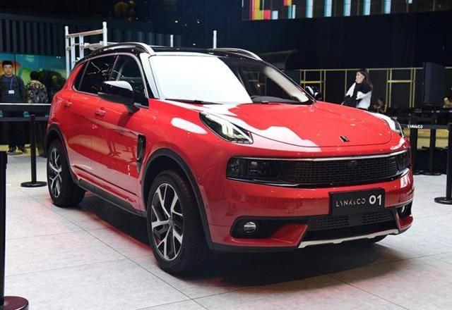 领克01今年广州车展上市 1.5T/2.0T发动机