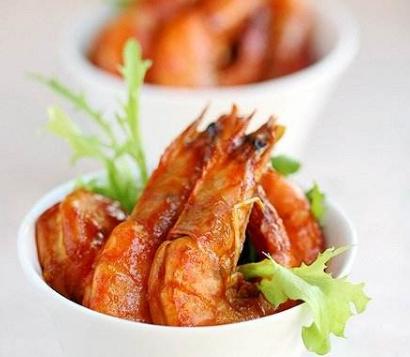 酸酸甜甜美味营养的番茄虾