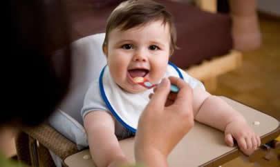 詳解各階段寶寶輔食合理調配