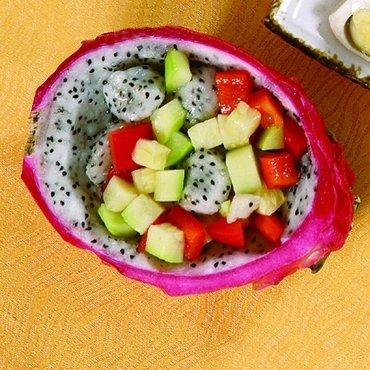 让幼儿开胃的2款火龙果食谱图片