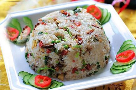 孕进步补的好食物--香菇糯米饭