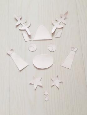 圣诞一起嗨:制作精致手工麋鹿