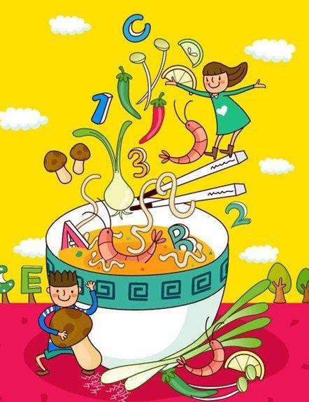 """营养与食品安全系副教授范志红表示,现在很多食品都会标明""""儿童""""二字图片"""