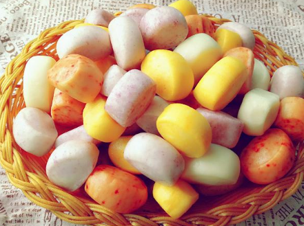 DIY儿童辅食—彩色小馒头