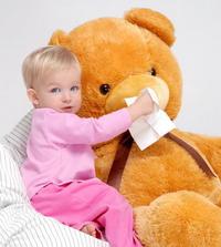 物理疗法让宝宝缓解流鼻涕